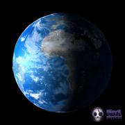 Terre photoréaliste 3d model
