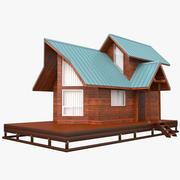 Cabin House 3d model