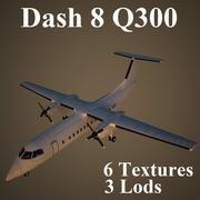 DH8C 3d model