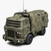 Armored Truck 1 3d model