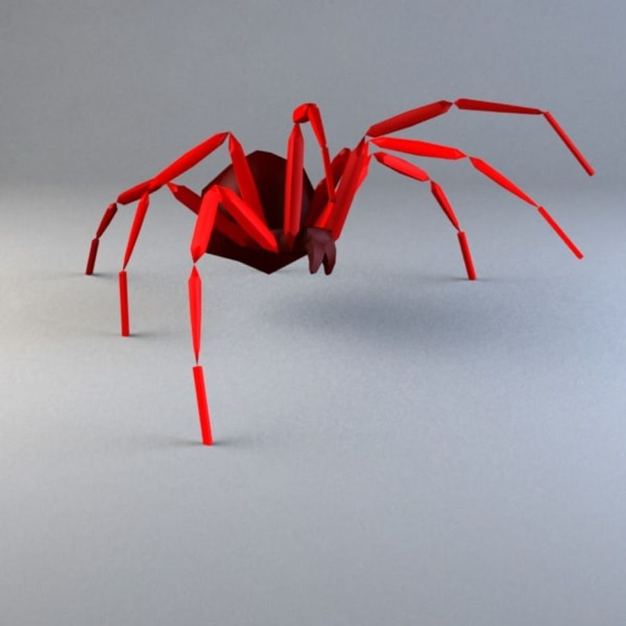 Spider-orb spider royalty-free 3d model - Preview no. 1