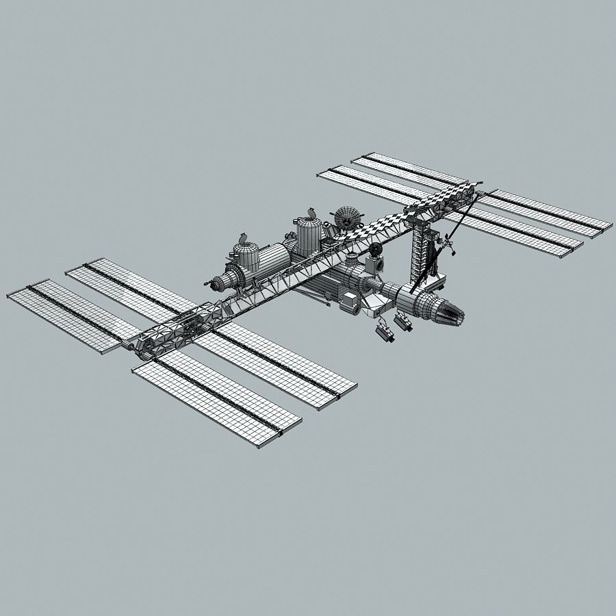 Space Platform royalty-free 3d model - Preview no. 9