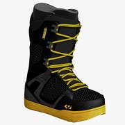 Snowboard Soft Boot 3d model