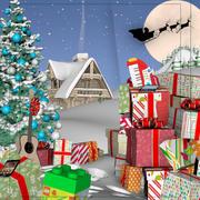 Scenario natalizio 3d model