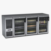 Under Bar Beer and Wine Cooler 3d model