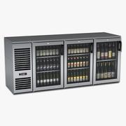 Onder Bar Bier- en wijnkoeler 3d model