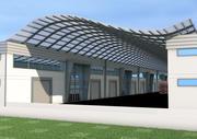 ホールセールトレードセンター 3d model