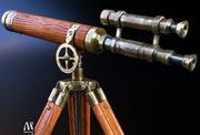 Vieux télescope 3d model