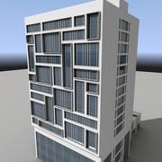 Modern Building 002 3d model
