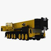 GMK 7550 Crane 3d model
