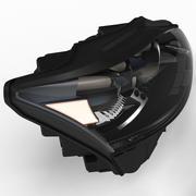 フロントライトLS600 3d model