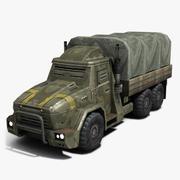 装甲トラック2 3d model