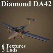 DA42 3d model