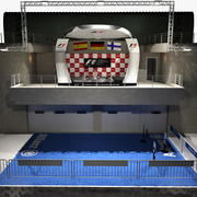 Formule 1 podium 3d model
