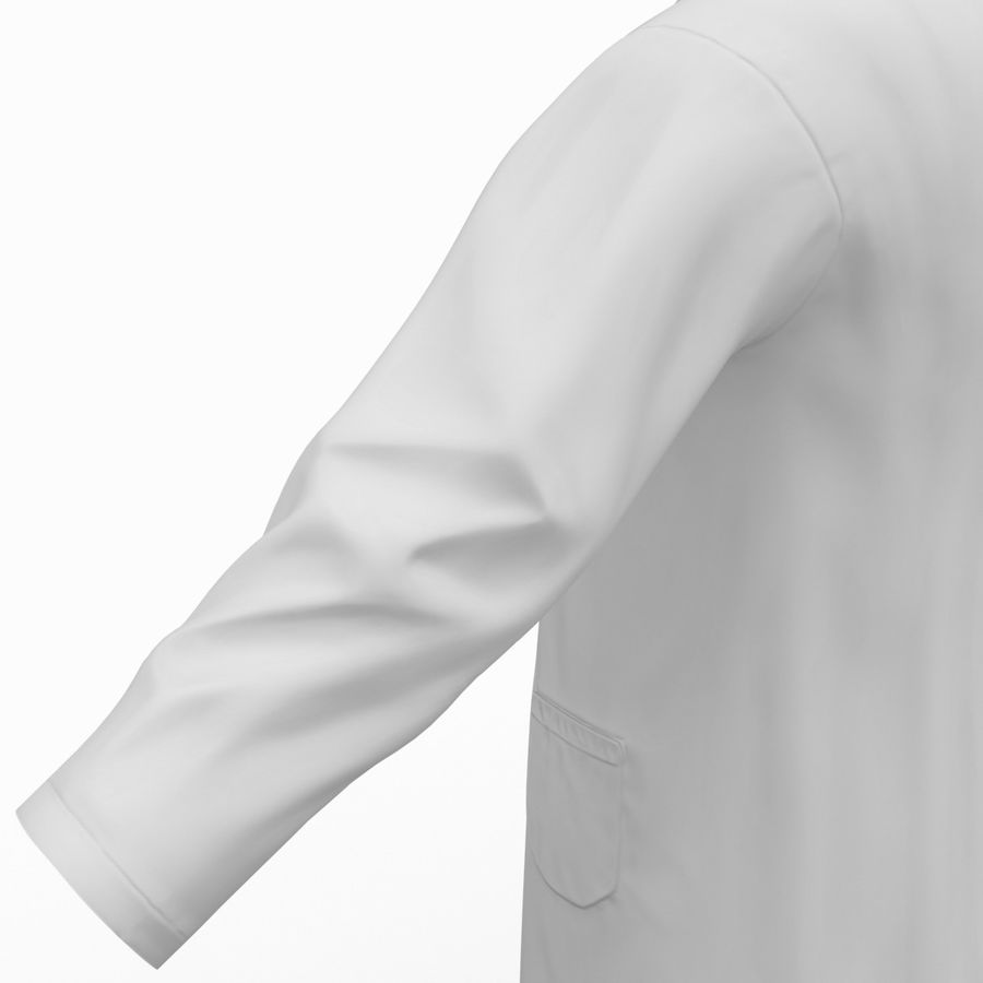 Doctor Clothes royalty-free 3d model - Preview no. 19