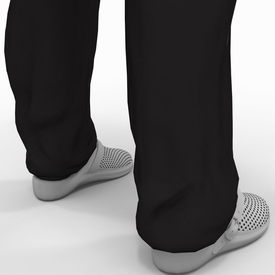 Doctor Clothes royalty-free 3d model - Preview no. 17