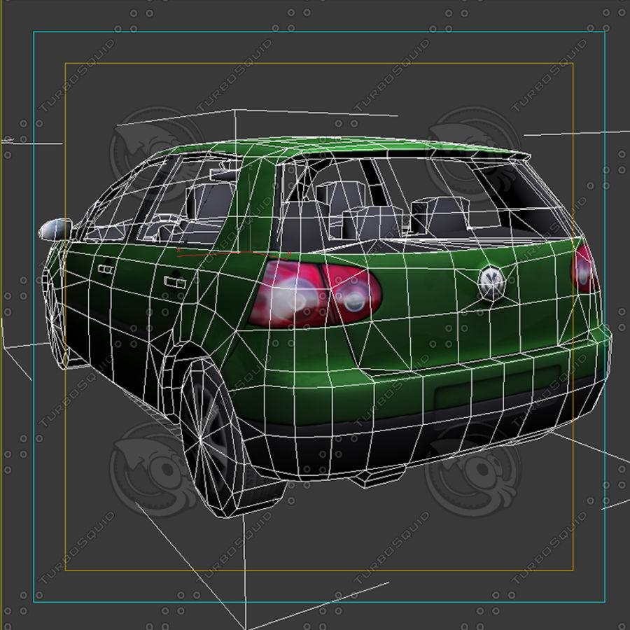 Car_01 royalty-free 3d model - Preview no. 7