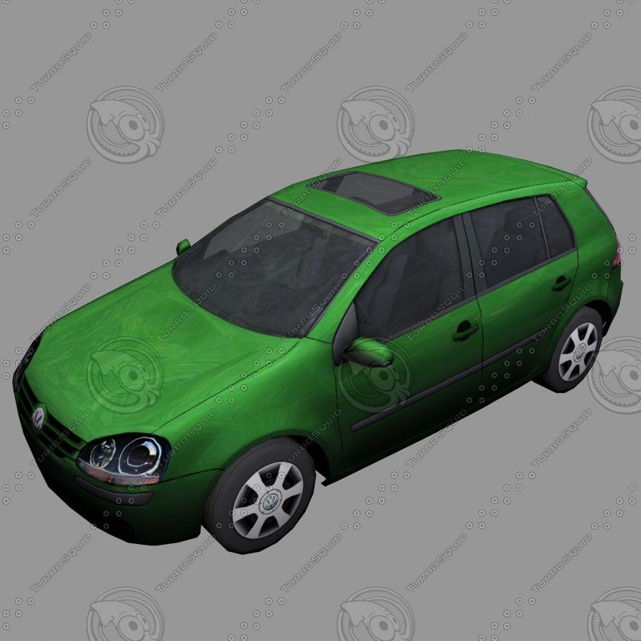 Car_01 royalty-free 3d model - Preview no. 2