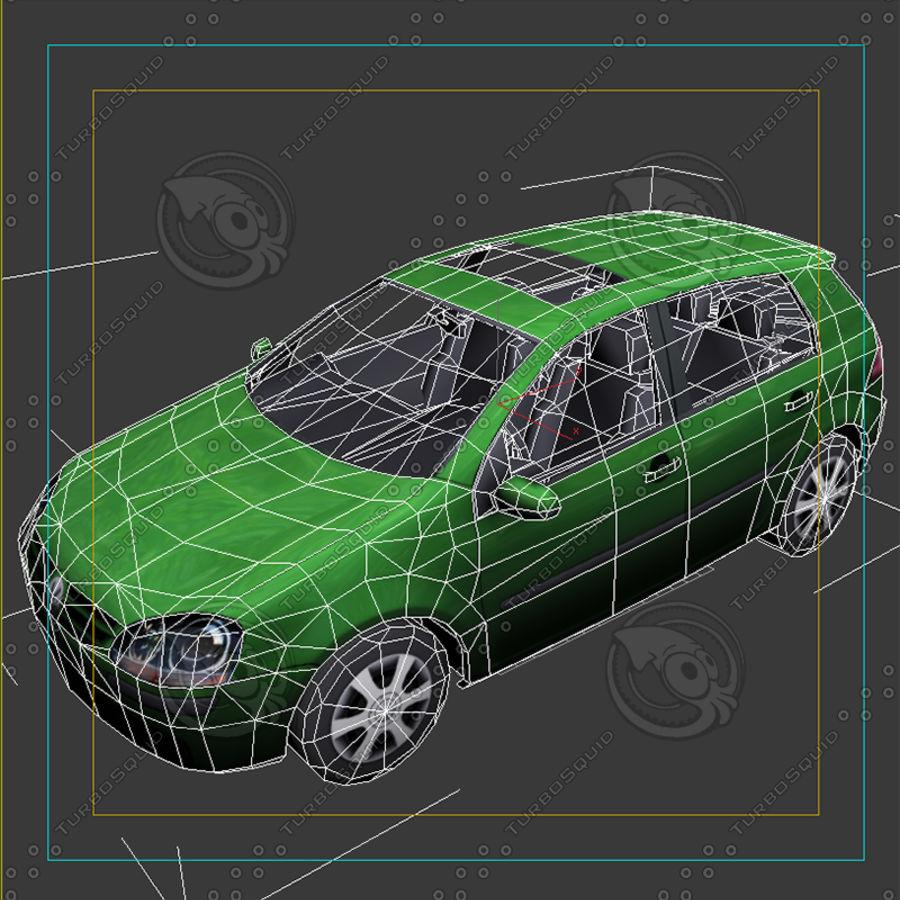 Car_01 royalty-free 3d model - Preview no. 9