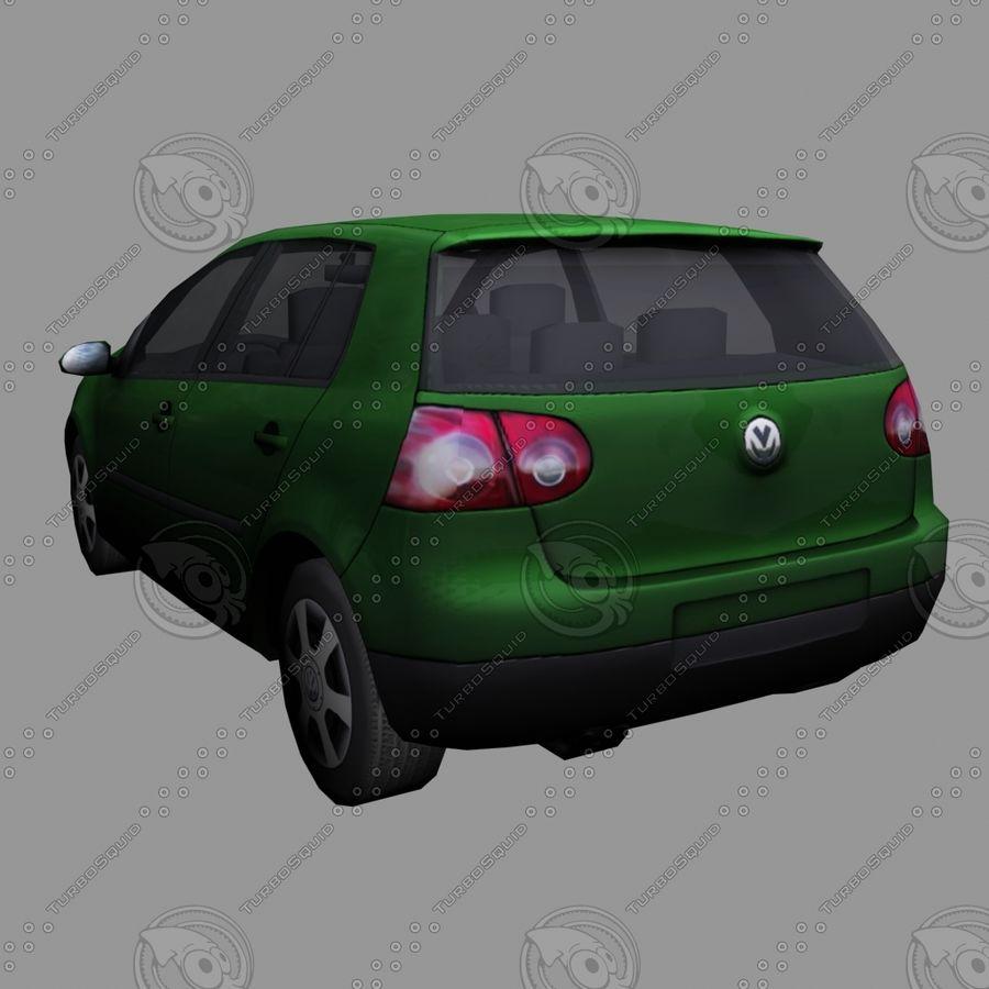 Car_01 royalty-free 3d model - Preview no. 4