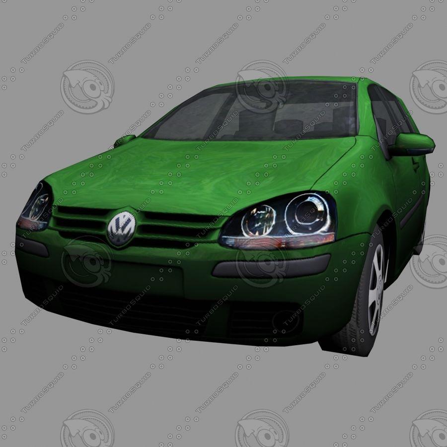 Car_01 royalty-free 3d model - Preview no. 5