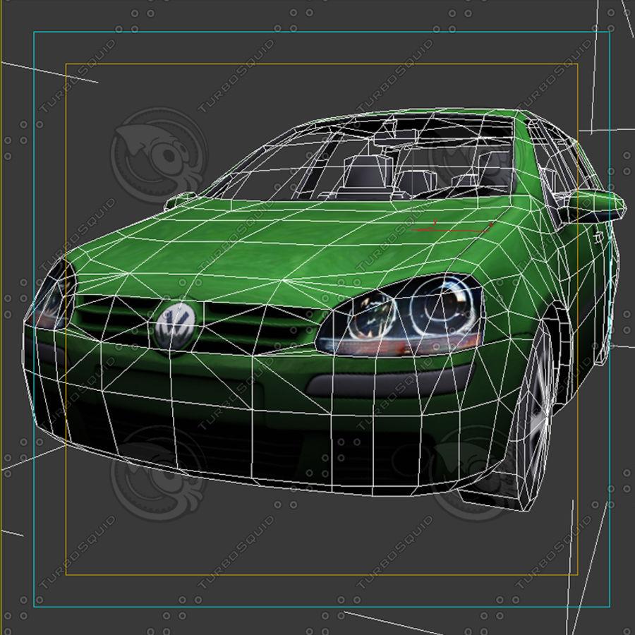 Car_01 royalty-free 3d model - Preview no. 6