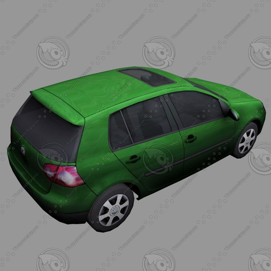 Car_01 royalty-free 3d model - Preview no. 3