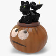 Kitty Candle Centerpiece 3d model