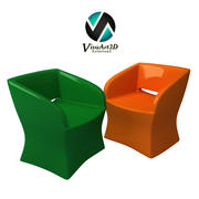 sillón 8 modelo 3d