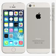 iphone 5s Silver 3d model