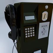 Public Telephone 3d model
