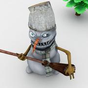 Злой Снеговик 3d model