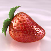 Strawberry (2) 3d model