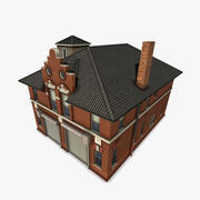 Fire Department Building 3d model