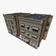 Two Downtown Buildings 3d model