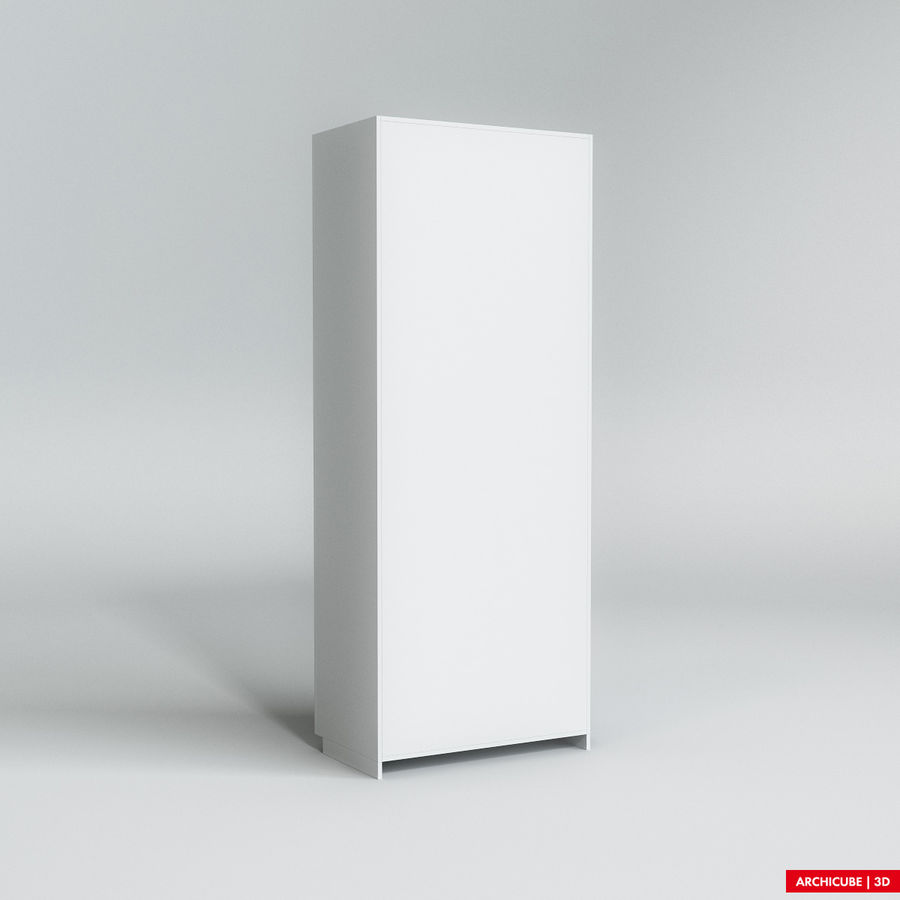 Dresser Cabinet royalty-free 3d model - Preview no. 3