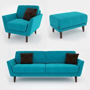 Sofa Sits Rucola 3d model