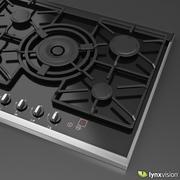 Płyta gazowa NEFF 3d model