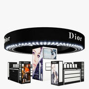 Cosmetics Stand - Dior 3d model