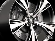 Acura NSXリム 3d model