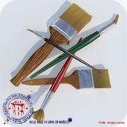 Pinsel 3d model