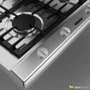 Miele Gas Hob 3d model