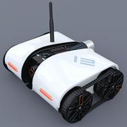 流浪者间谍坦克 3d model