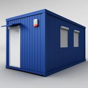 Containerschifffahrtshaus (1) 3d model