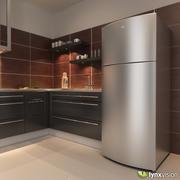 ワールプールトップ冷凍庫冷蔵庫 3d model