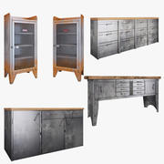 Metal Furniture 3d model