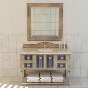 Badezimmerschrank 3d model