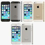 Iphone 5s all color 3d model