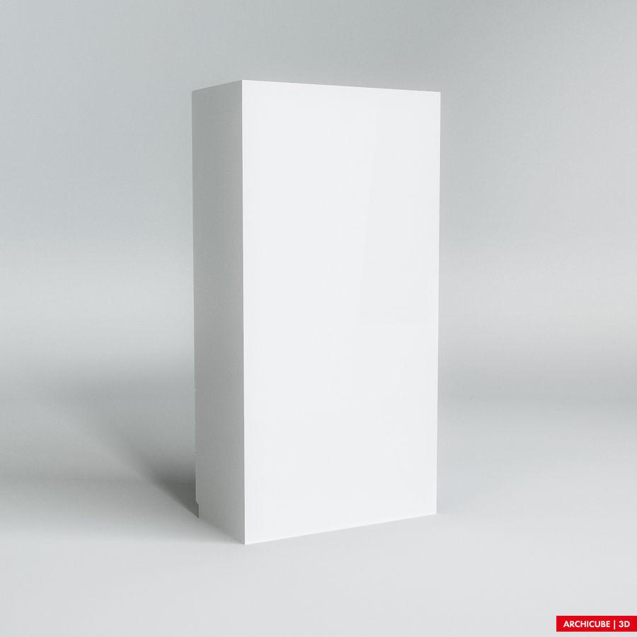 梳妆台柜 royalty-free 3d model - Preview no. 3