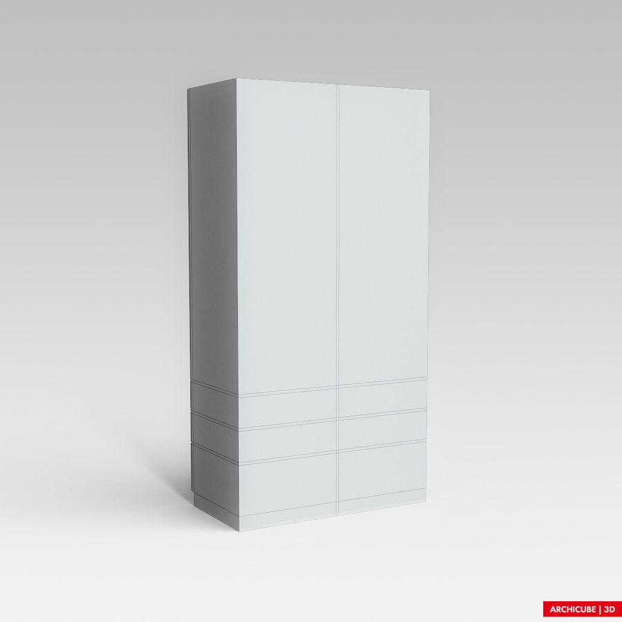 梳妆台柜 royalty-free 3d model - Preview no. 8